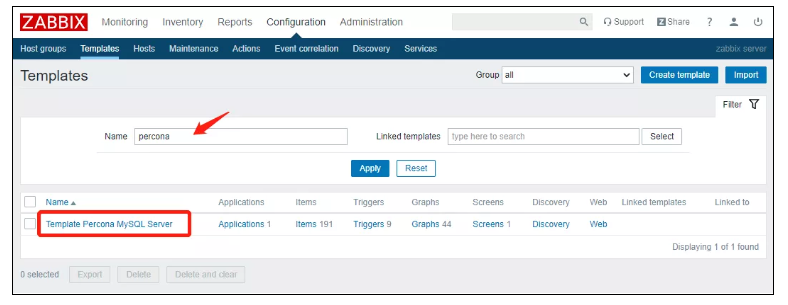 使用Zabbix 监控 MySQL, Zabbix 的部署,安装 Zabbix Server,在 Agent 创建 Zabbix 监控用户,查看MySQL监控数据