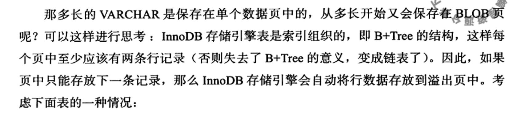 从内分析InnoDB,MySQL内部数据结构,Row 数据行,字符集和 char 的关系,行溢出